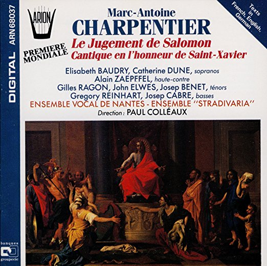 Marc-Antoine Charpentier: Le jugement de Salomon ARION ARN68037